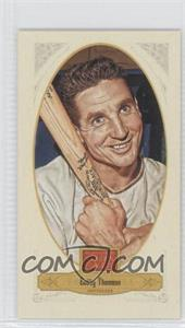 2012 Panini Golden Age Candy Croft's Mini Red Back #59 - Bobby Thomson, New York Giants