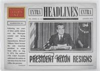Richard Nixon, TBD