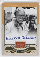 Russell Johnson, TBD