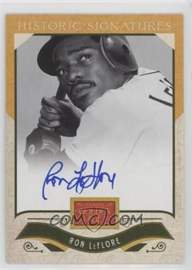 2012 Panini Golden Age Historic Signatures #RL - Ron LeFlore