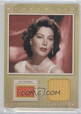 2012 Panini Golden Age Museum Age Authentic Collection Material #10 - Ava Gardner, TBD