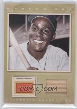 2012 Panini Golden Age Museum Age Authentic Collection Material #14 - Minnie Minoso