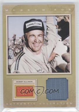 2012 Panini Golden Age Museum Age Authentic Collection Material #19 - Bobby Allison, TBD