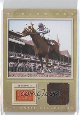2012 Panini Golden Age Museum Age Authentic Collection Material #20 - Secretariat, TBD