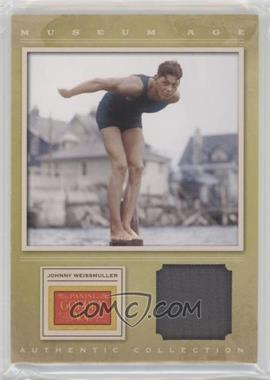 2012 Panini Golden Age Museum Age Authentic Collection Material #7 - Johnny Weissmuller