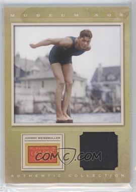 2012 Panini Golden Age Museum Age Authentic Collection Material #7 - TBD, Johnny Weissmuller