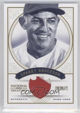 2012 Panini National Treasures - [Base] - Prime #97 - Sparky Anderson /25