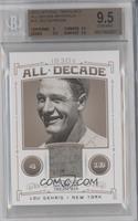 Lou Gehrig /30 [BGS9.5]