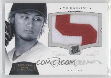 2012 Panini National Treasures Rated Rookies Gold #224 - Yu Darvish /25