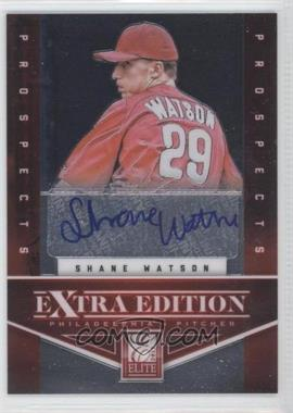 2012 Panini Prizm - Elite Extra Edition - Autographs [Autographed] #EEESW - Shane Watson /158