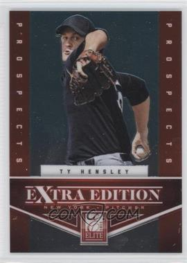 2012 Panini Prizm - Elite Extra Edition #EEE6 - Ty Hensley