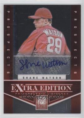 2012 Panini Prizm Elite Extra Edition Autographs [Autographed] #EEESW - Shane Watson /158