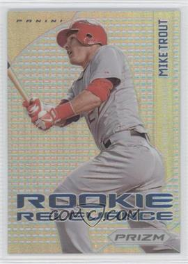 2012 Panini Prizm Rookie Relevance Prizms #RR1 - Mike Trout