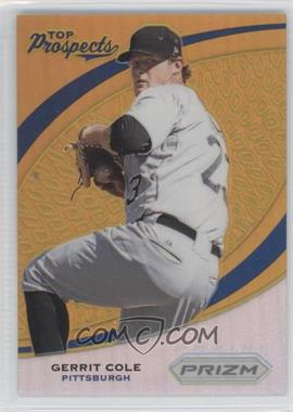 2012 Panini Prizm Top Prospects Gold Prizms #TP4 - Gerrit Cole /10