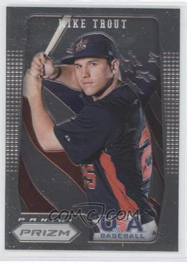 2012 Panini Prizm USA Baseball #USA1 - Mike Trout