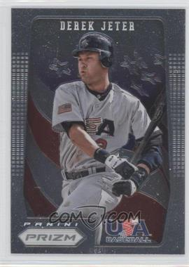 2012 Panini Prizm USA Baseball #USA8 - Derek Jeter