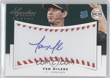 2012 Panini Signature Series - [Base] - Rated Rookie Signatures Game Ball #144 - Tom Milone /299