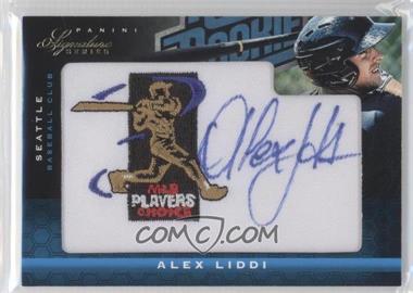 2012 Panini Signature Series - [Base] - Rated Rookie Signatures MLBPA Patch #103 - Alex Liddi /299