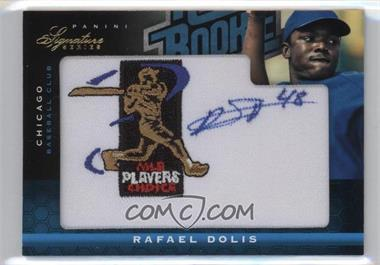 2012 Panini Signature Series - [Base] - Rated Rookie Signatures MLBPA Patch #122 - Rafael Dolis /299