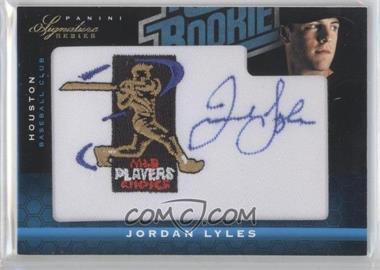 2012 Panini Signature Series - [Base] - Rated Rookie Signatures MLBPA Patch #125 - Jordan Lyles /299