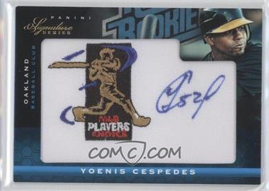 2012 Panini Signature Series - [Base] - Rated Rookie Signatures MLBPA Patch #150 - Yoenis Cespedes /299