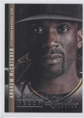 2012 Panini Signature Series - [Base] - Silver Proof #11 - Andrew McCutchen /25