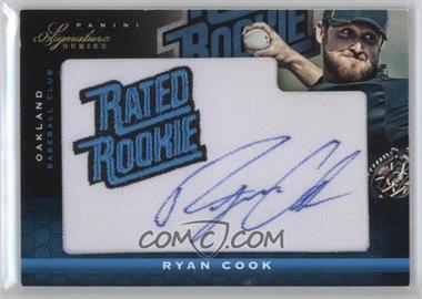 2012 Panini Signature Series - [Base] #140 - Ryan Cook /299