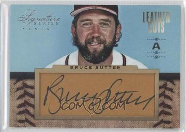 2012 Panini Signature Series Leather Cuts #6 - Bruce Sutter /25