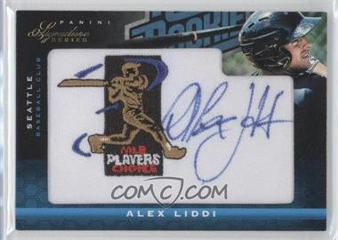 2012 Panini Signature Series Rated Rookie Signatures MLBPA Patch #103 - Alex Liddi /299