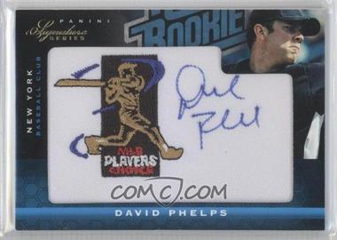 2012 Panini Signature Series Rated Rookie Signatures MLBPA Patch #110 - David Phelps /299