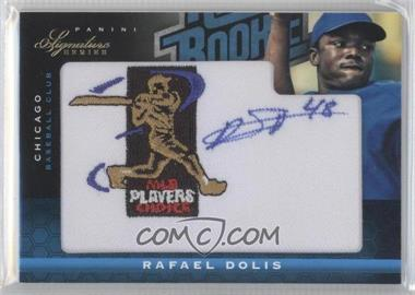 2012 Panini Signature Series Rated Rookie Signatures MLBPA Patch #122 - Rafael Dolis /299
