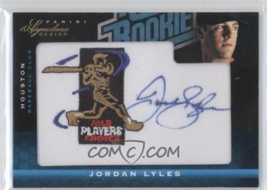 2012 Panini Signature Series Rated Rookie Signatures MLBPA Patch #125 - Jordan Lyles /299