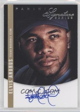 2012 Panini Signature Series Signatures #26 - Elvis Andrus /99