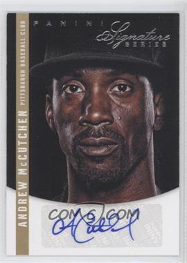 2012 Panini Signature Series Signatures #7 - Andrew McCutchen /99