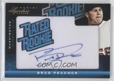 2012 Panini Signature Series #105 - Brad Peacock /299