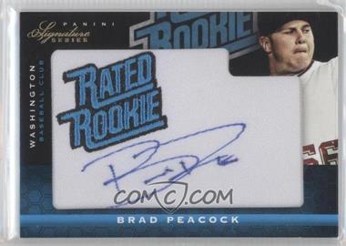 2012 Panini Signature Series #105 - Brad Peacock /299