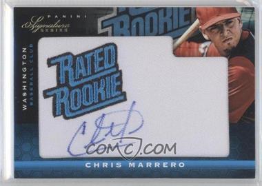 2012 Panini Signature Series #107 - Chris Marrero /299