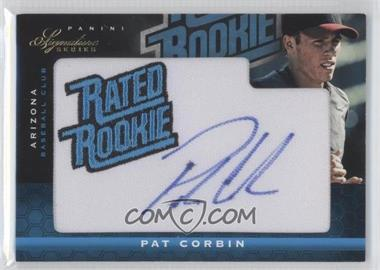 2012 Panini Signature Series #138 - Pat Corbin /299
