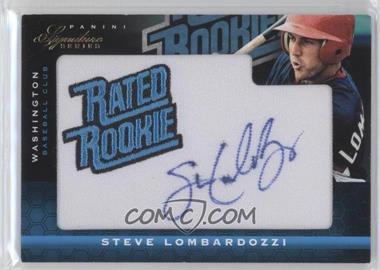 2012 Panini Signature Series #141 - Steve Lombardozzi /299
