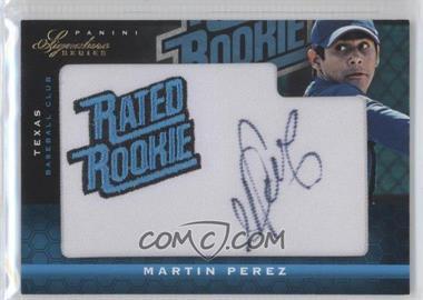 2012 Panini Signature Series #147 - Martin Perez /299