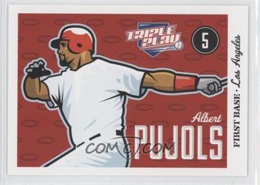 2012 Panini Triple Play - [Base] #37 - Albert Pujols