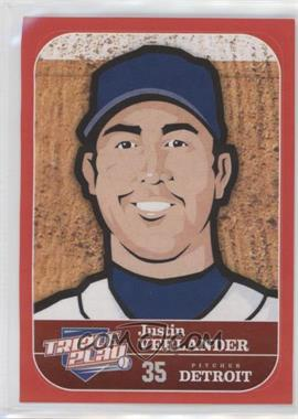 2012 Panini Triple Play Stickers #24 - Justin Verlander