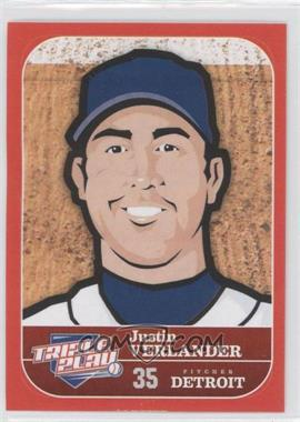 2012 Panini Triple Play Stickers #24 - Justin Verlander