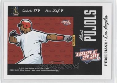 2012 Panini Triple Play #119 - Puzzle - Albert Pujols