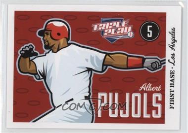 2012 Panini Triple Play #37 - Albert Pujols