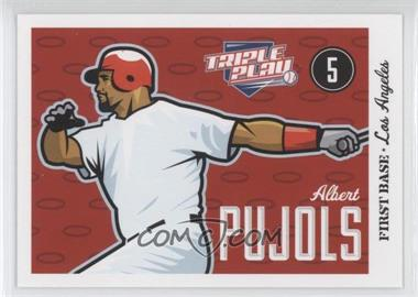 2012 Panini Triple Play #37 - Albert Pujols