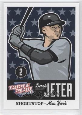 2012 Panini Triple Play #57 - Derek Jeter