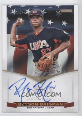 2012 Panini USA Baseball National Team - 18U National Team Signatures #BB - Bryson Brigman /349
