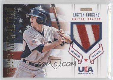 2012 Panini USA Baseball National Team - Collegiate National Team Patches #5 - Austin Cousino /35