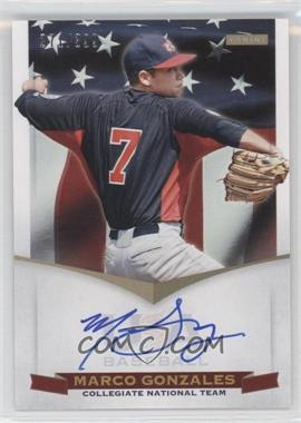 2012 Panini USA Baseball National Team - Collegiate National Team Signatures #10 - Marco Gonzales /399
